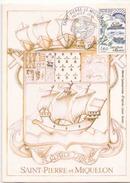 Carte Premier Jour Du 9 Janvier 1982 à Saint Pierre - FDC