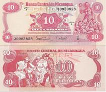 Nicaragua 10 Cordobas 1979. UNC P-134 - Nicaragua