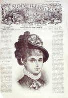 LA MODE ILLUSTREE-1881-20-sans PATRONS-VOIR MODELES DETAILLES - Literature