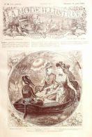 LA MODE ILLUSTREE-1881-28-sans PATRONS-VOIR MODELES DETAILLES - Literature