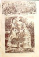 LA MODE ILLUSTREE-1881-30-sans PATRONS-VOIR MODELES DETAILLES - Literature