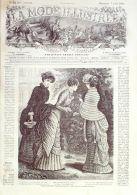 LA MODE ILLUSTREE-1881-32-sans PATRONS-VOIR MODELES DETAILLES - Literature