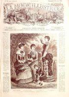 LA MODE ILLUSTREE-1881-34-sans PATRONS-VOIR MODELES DETAILLES - Literature