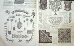 LA MODE ILLUSTREE-1881-37-sans PATRONS-VOIR MODELES DETAILLES - Literature