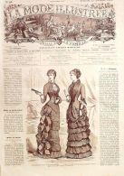 LA MODE ILLUSTREE-1881-48-sans PATRONS-VOIR MODELES DETAILLES - Literature