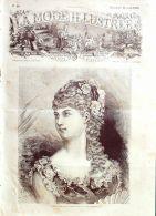 LA MODE ILLUSTREE-1882-16-sans PATRONS-VOIR MODELES DETAILLES - Literature