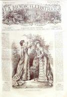 LA MODE ILLUSTREE-1882-19-sans PATRONS-VOIR MODELES DETAILLES - Literature