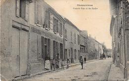 78 CONFLANS - CHENNEVIERES - Grande Rue Et Les Ecoles - Animée - Conflans Saint Honorine