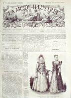 LA MODE ILLUSTREE-1883-53-sans PATRONS-VOIR MODELES DETAILLES - Literature