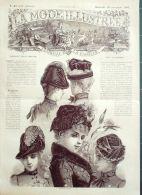 LA MODE ILLUSTREE-1884-47-sans PATRONS-VOIR MODELES DETAILLES - Literature