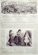 LA MODE ILLUSTREE-1885-10-sans PATRONS-VOIR MODELES DETAILLES - Literature