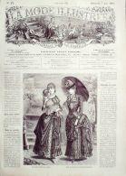 LA MODE ILLUSTREE-1885-23-sans PATRONS-VOIR MODELES DETAILLES - Literature