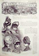 LA MODE ILLUSTREE-1885-26-sans PATRONS-VOIR MODELES DETAILLES - Literature