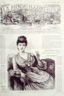 LA MODE ILLUSTREE-1885-39-sans PATRONS-VOIR MODELES DETAILLES - Literature