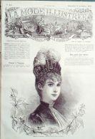 LA MODE ILLUSTREE-1885-45-sans PATRONS-VOIR MODELES DETAILLES - Literature