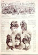 LA MODE ILLUSTREE-1886-42-sans PATRONS-VOIR MODELES DETAILLES - Literature