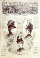 LA MODE ILLUSTREE-1886-49-sans PATRONS-VOIR MODELES DETAILLES - Literature