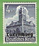 MiNr.34 Xx Deutschland Besetzte Gebiete II.WK Luxemburg - Occupazione 1938 – 45