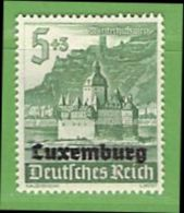 MiNr.35 Xx Deutschland Besetzte Gebiete II.WK Luxemburg - Occupazione 1938 – 45