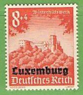 MiNr.37 Xx Deutschland Besetzte Gebiete II.WK Luxemburg - Occupazione 1938 – 45