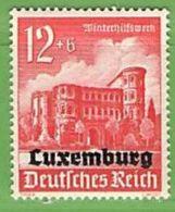 MiNr.38 Xx Deutschland Besetzte Gebiete II.WK Luxemburg - Occupazione 1938 – 45