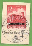 MiNr.38 O Deutschland Besetzte Gebiete II.WK Luxemburg - Besetzungen 1938-45