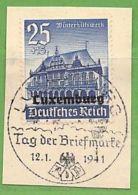 MiNr.40 O Deutschland Besetzte Gebiete II.WK Luxemburg - Besetzungen 1938-45