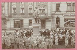 Allemagne - MEERANE - Foto - Carte Photo - Soldats Allemands - Feldpost - Guerre 14/18 - Meerane