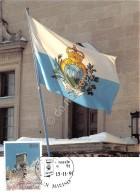 Cartolina San Marino Annullo Speciale Natale 1991 - San Marino