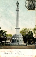 ARGENTINA - BUENOS AIRES - MONUMENTO A LAVALLE 1907 - Argentina
