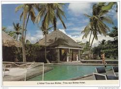 X1258 MAURITUS ILE MAURICE L'HOTEL TROU AUX BICHES   2 SCANS - Mauritius