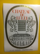 3737 - Château De Lully Dorin  Suisse Vaud - Etiquettes