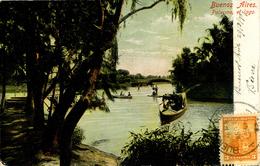 ARGENTINA - BUENOS AIRES - PALERMO ET LAGO 1907 - Argentina