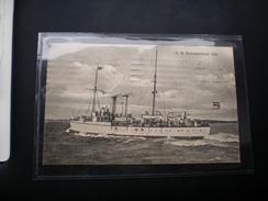 S. M. Kanonenboot Iltis WW1 Feldpost - Warships