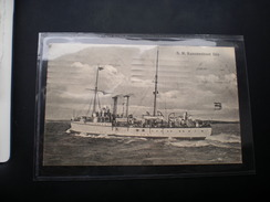 S. M. Kanonenboot Iltis WW1 Feldpost - Guerre