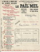 TOURY MAURICE LAMBERT LE PAIL MEL AVOINE AZOTE LACTO POUR CHEVEAUX ANNEE 1950 - Unclassified