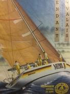 3743 - Whitbread Round The World Race 1989-1990 Pierre Fehlmann Sur Merit Fendant Du Valais - Bateaux à Voile & Voiliers