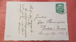 """DR 33-45: Orts-Karte """"Fröhliche Weinachten"""" Mit 5 Pf Hindenburg Vom 24.12.37 Knr: 515 - Briefe U. Dokumente"""