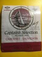 3744 - James Hardy Captain's Selection 1987 Mc Laren Value Cabernet Sauvignon Australie - Bateaux à Voile & Voiliers