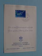 Die Besten Glückwünsche Und Alles Gute Auf Dem Ritt Ins Jahr 1968 ( Zie Foto Details ) !! - Liechtenstein