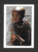 SÉNÉGAL - AFRIQUE - COULEURS DU SÉNÉGAL - ENFANT UNE REGARD SI PROFOND - PHOTO M. RENAUDEAU - Sénégal