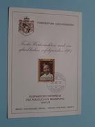 Frohe Weihnachten Und Ein Glückliches Erfolgreiches 1971 / Stamp 1970 ( Zie Foto Details ) !! - Liechtenstein