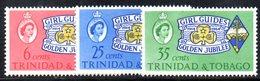 R513 - TRINIDAD TOBAGO 1964  , Yvert  Serie N. 200/202   ***  MNH  Scout Girl Guide - Trindad & Tobago (1962-...)