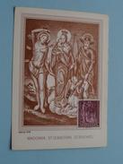 MADONNA, ST. SEBASTIAN, ST. ROCHUS / Stamp 1964 ( Zie Foto Details ) !! - Liechtenstein
