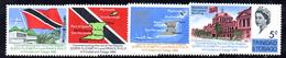 R494 - TRINIDAD TOBAGO 1966  , Yvert  Serie N. 206/209   ***  MNH  Visita Reale - Trindad & Tobago (1962-...)