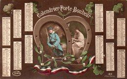 CALENDRIER PORTE BONHEUR 1916 - Cartes Postales