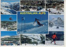 AUSTRALIAN ALPS - Ski Resots, Thredbo, Perisher Valley, Falls Creek, ...  Nice Stamp - Australia