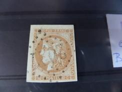 Superbe N°43 , Angle H Gauche,pas D'aminci - 1870 Ausgabe Bordeaux