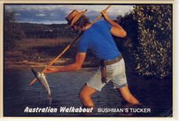 AUSTRALIAN WALKABOUT - Bushman's Tucker,  Nice Stamp Rock Wallaby - Aborigines