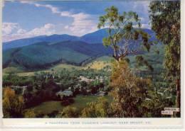 BRIGHT; Victoria, A Pnaorama From Huggin's Lookout, Nice Stamp - Australia